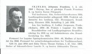 Johannes - cv