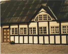 Højagergaard stuehuset nyere dato