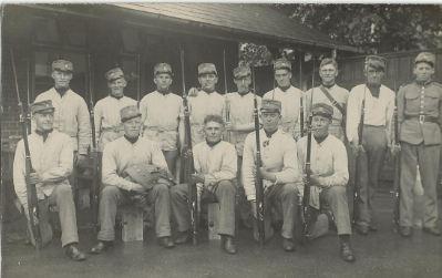 Verner soldaterbillede fra 1932
